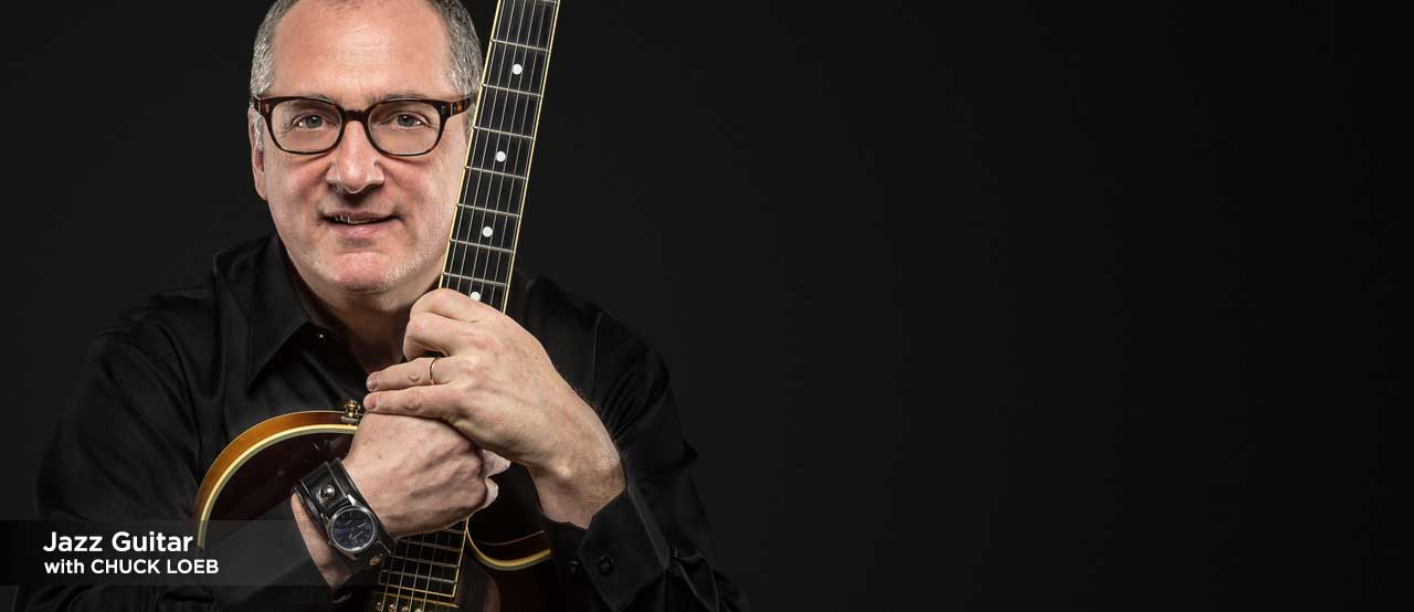 online guitar lessons with chuck loeb