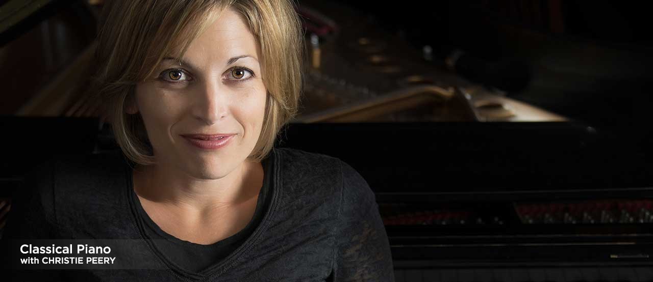 online piano lessons with christie peery