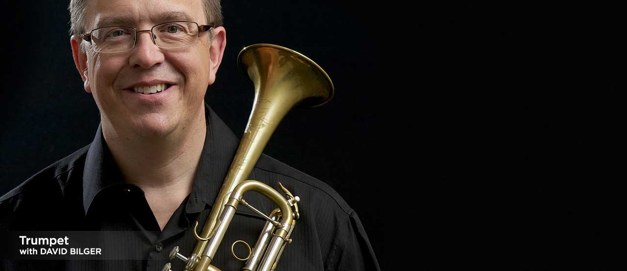 trumpet lessons with david bilger