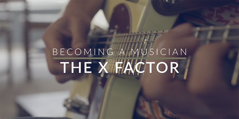 "The ArtistWorks ""X-Factor"""
