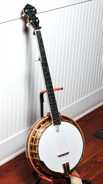 tony trischka golden clipper banjo