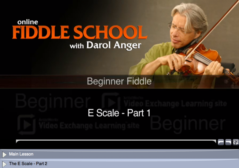 beginner fiddle lessons