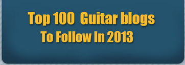 top 100 guitar blogs