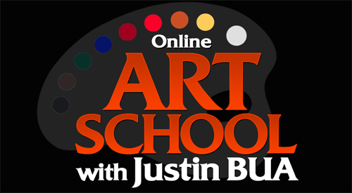 how to draw with Justin BUA now open!