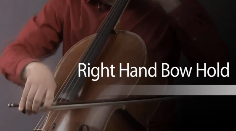 cello lessons with mike block - bow hold