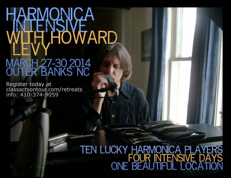 harmonica intensive howard levy