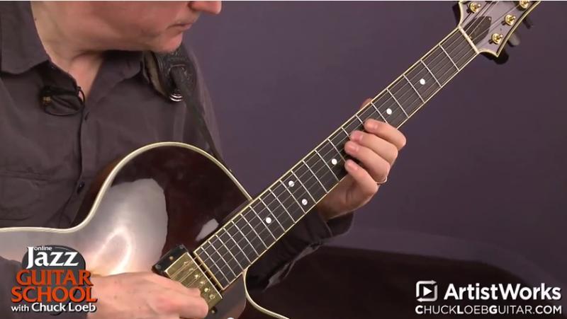chuck loeb jazz guitar improvisation