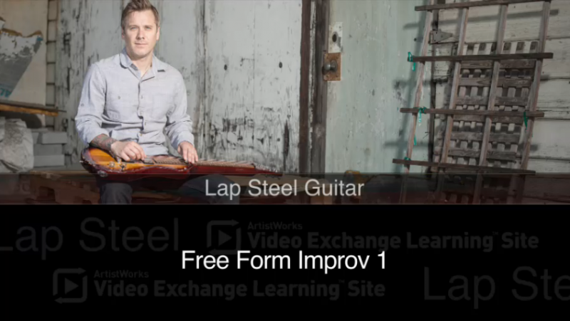 Lap Steel Guitar Lesson - Free Form Improv
