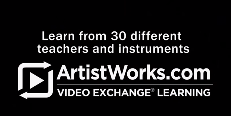 learn an instrument online at artistworks