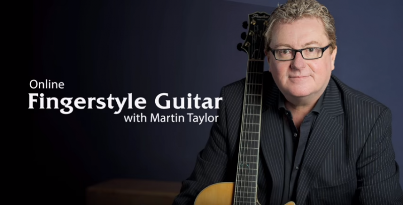 fingerstyle guitar with martin taylor at artistworks