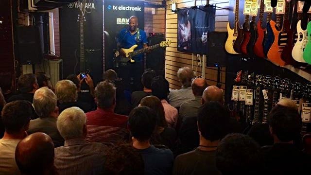nathan east bass clinic in brighton