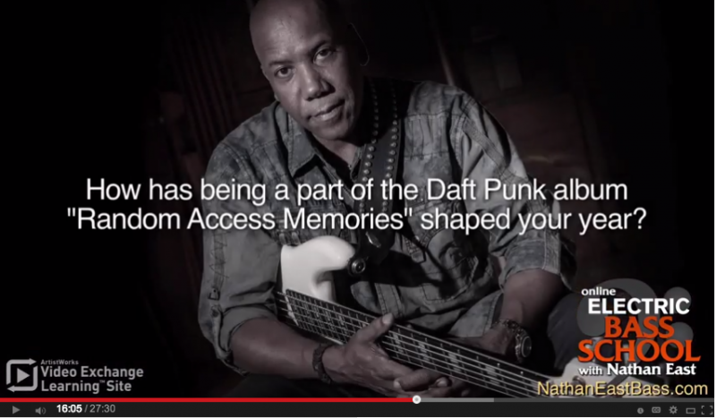 nathan east daft punk interview