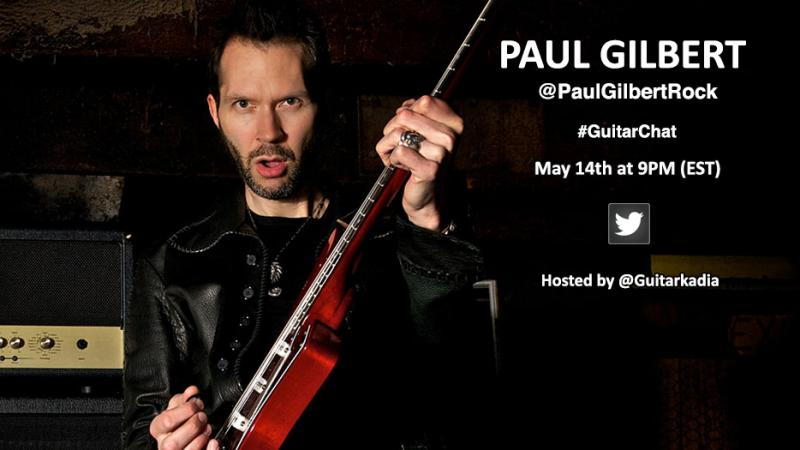 Paul Gilbert #GuitarChat