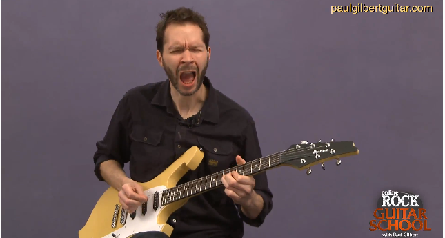 paul gilbert guitar lessons
