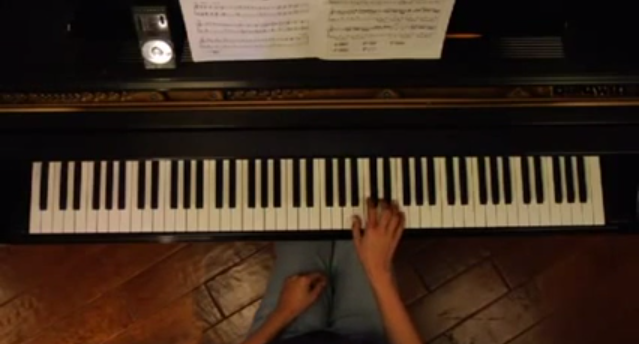 piano lesson drop floating wrists
