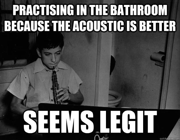play music in the bathroom