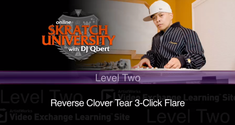 Reverse Clover Tear 3-Click Flare,