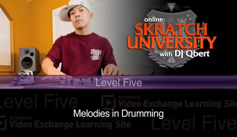 scratching drums - new lesson on qsu