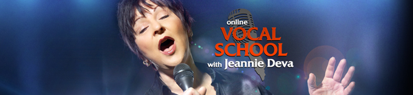 voice lessons with Jeannie Deva