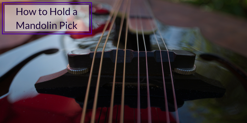 How to Hold a Mandolin Pick